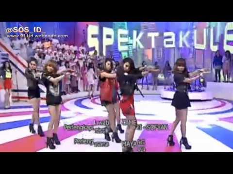 SOS (Sensation Of Stage) - Drop It Low Live at Spektakuler Trans TV 130408