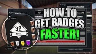 how to get all badges grand badge for a shot creator nba 2k17 mycareer tutorial