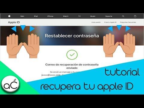 Tutorial   Recupera Contraseña De Apple ID   IPhone, IPad, IPod Touch   Apple Chaa