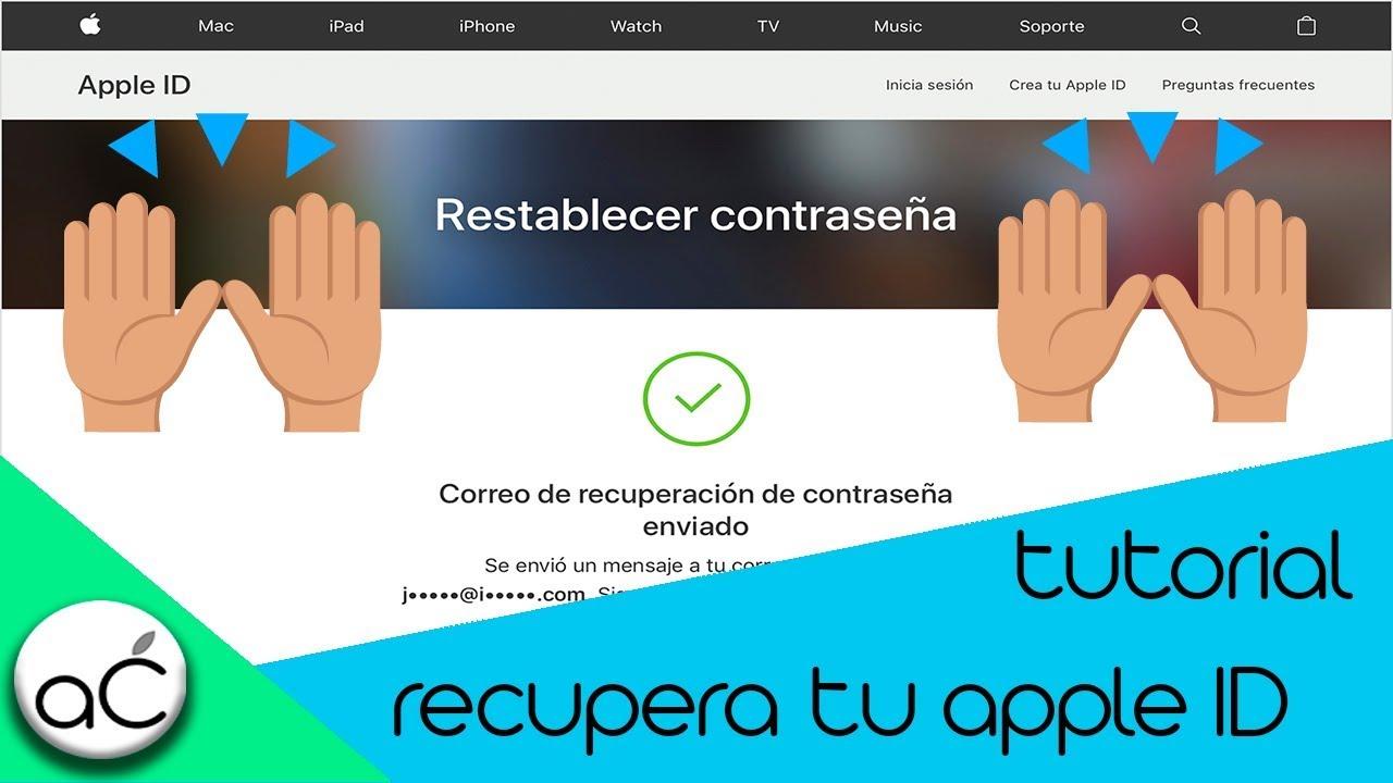 Tutorial Recupera Contraseña De Apple Id Iphone Ipad Ipod Touch Apple Chaa