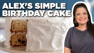 Alex Guarnaschelli's Simple Birthday Cake | Alex's Day Off | Food Network