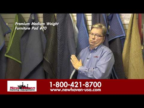 Premium Medium Weight Furniture Pad By New Haven Moving Equipment