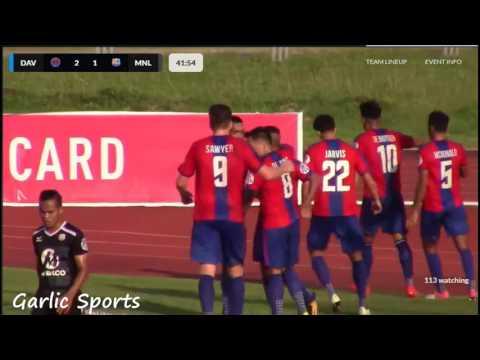 PFL 2017: Davao Aguilas FC VS FC Meralco Manila 2-3 Highlights 7-29-17