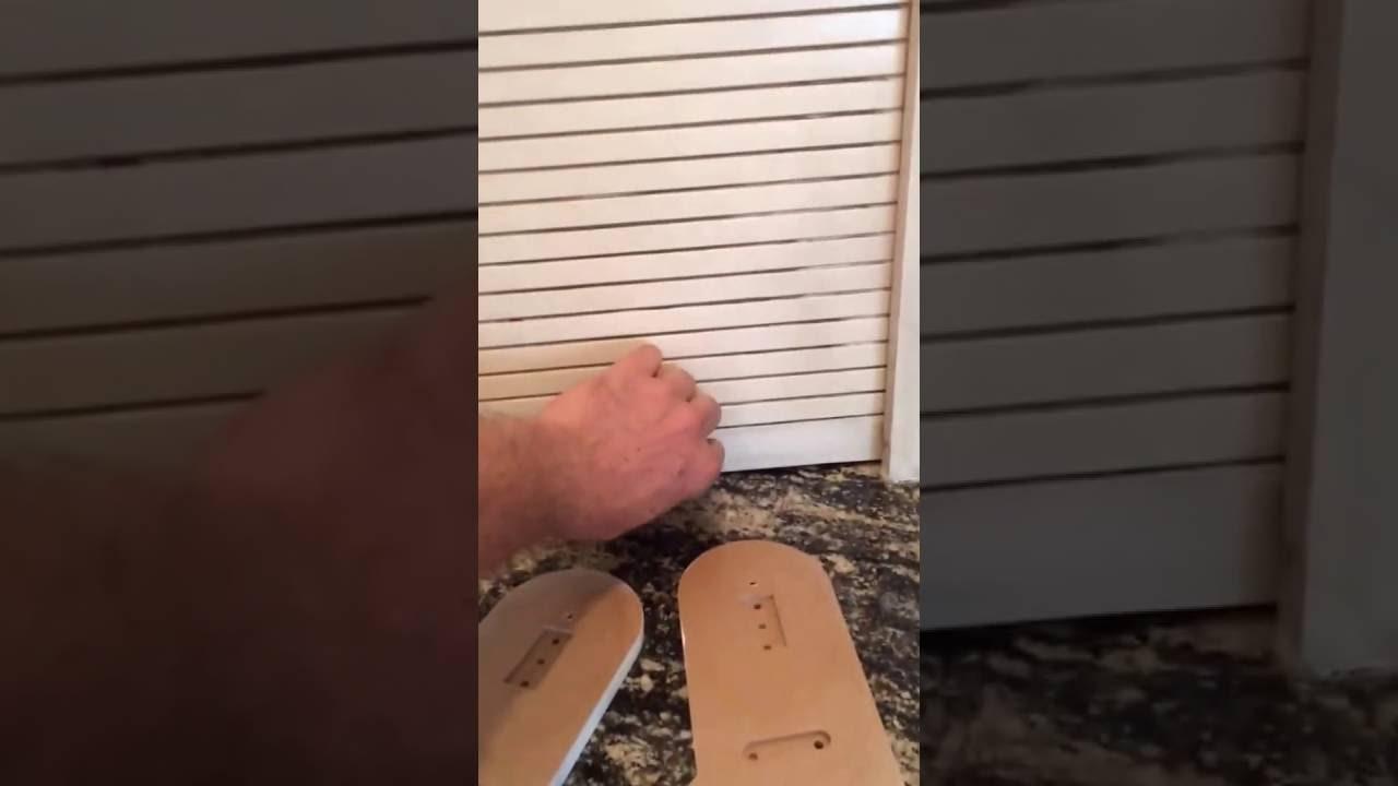 Tambour Door Repair Video