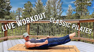 LIVE WORKOUT: 8 Classic Pilates Abs Exercises