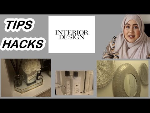 INTERIOR DESIGN TIPS & TRICKS 2019 | MAKE YOUR HOME LOOK EXPENSIVE ON A BUDGET | Marwa Chebbi
