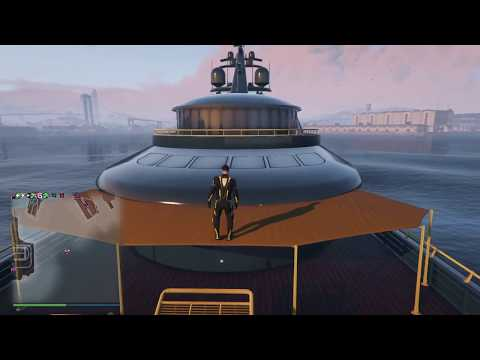 Grand Theft Auto V Yacht Piracy Protection WIP Work |