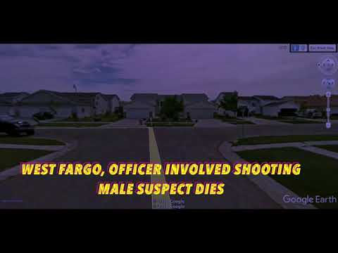 Male Suspect Dies In West Fargo, Officer Involved Shooting