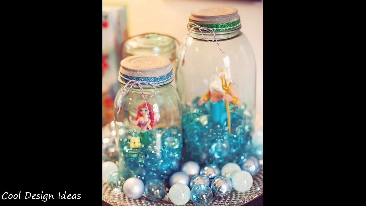 Diy Little Mermaid Party Decorations Ideas Youtube
