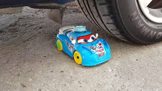 Gambar cover Crushing Crunchy & Soft Things by Car! EXPERIMENTS - BABY CAT VS CAR TEST