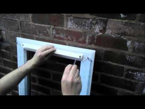 How To Fit A Trickle Vent In 10 Mins Youtube