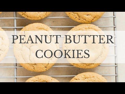 Soft Peanut Butter Cookies Recipe