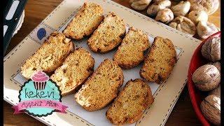 Selanik Gevreği (Biscotti) Kurabiye - Sıvıyağlı, Çok Kolay Tarif   Ayşenur Altan