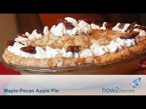 Maple-Pecan Apple Pie