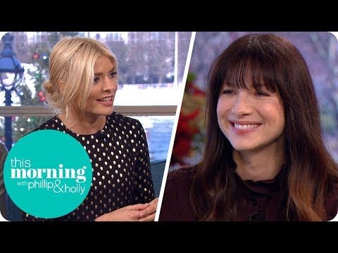 Holly Completely girls Over Outlander's Caitriona Balfe  This Morning