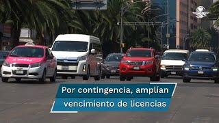 Para contener la propagación del Covid-19, la Secretaría de Comunicaciones y Transportes determinó la suspensión de trámites en materia de autotransporte federal