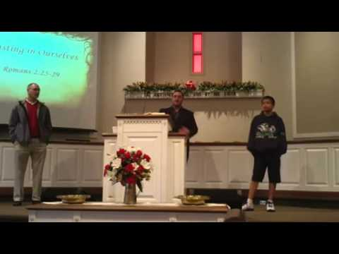 Boasting in Ourselves    ~ Christian sermon by  Timothy Easley