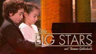 Die Pianisten-Geschwister (Alejandro und Valeria) | Little Big Stars mit Thomas Gottschalk | SAT.1