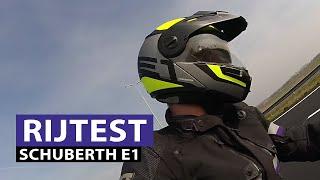 Schuberth E1 Motorhelm Rijtest - MotorKledingCenter