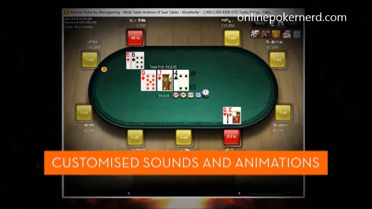 Betsson Poker