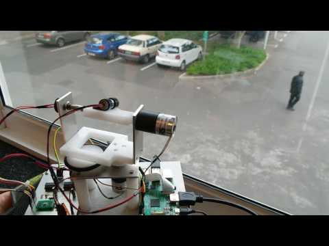 Laser Tracking System -using OpenCV 3.1 and Raspberry Pi 3