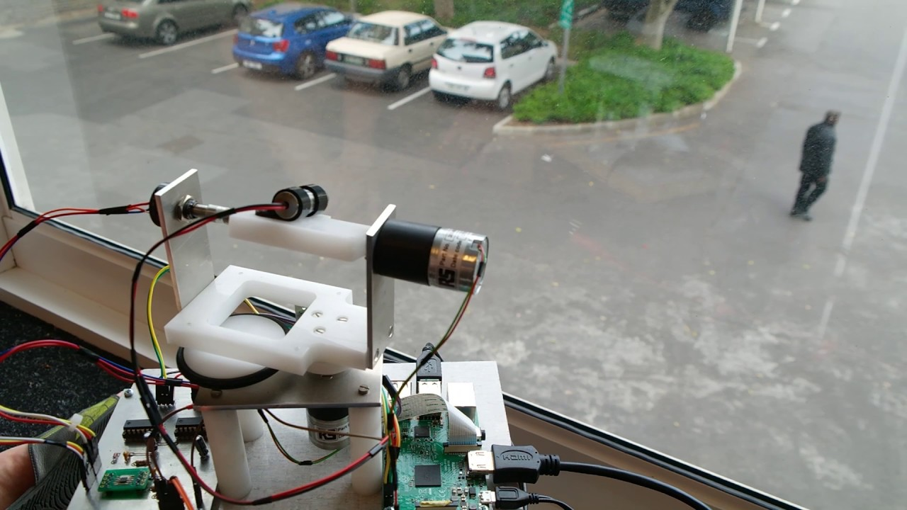 Laser Entfernungsmesser Raspberry Pi : Laser tracking system using opencv 3.1 and raspberry pi 3 youtube