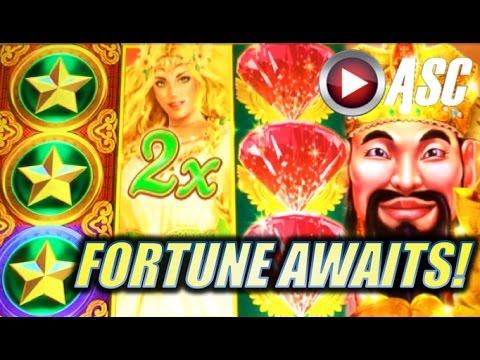 *FORTUNE AWAITS MEDLEY MIX!* FORTUNE STACKS BONUS RUN (Konami) Slot Machine Bonus Wins