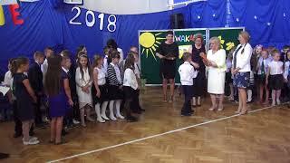 Zakonczenie roku szkolnego SP nr 3 22.06.2018