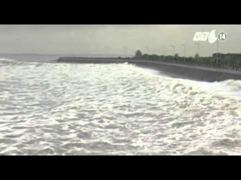 VTC14_Chiêm ngưỡng thủy triều lớn nhất từ trước tới nay trên sông Tiền Đường - Trung Quốc