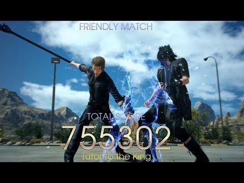 Final Fantasy XV Episode Ignis Friendly Match Hardest Mode