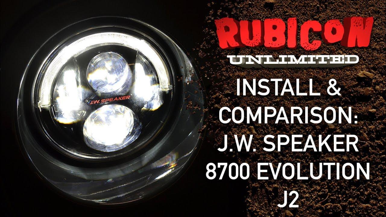 J.W. Speaker Evolution J8 Series Install & Drive!