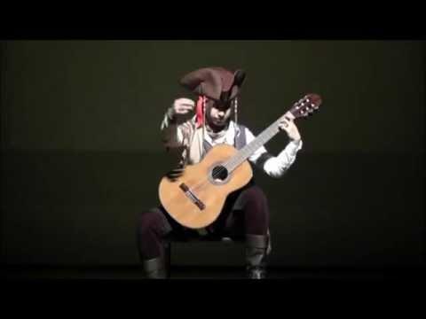 Black Pearl (Pirates of the Caribbean) - Classical Guitar Concert 2012 Japan