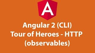 angular 2 cli tour of heroes http observables