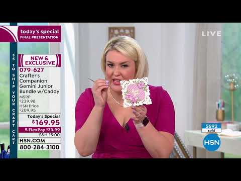 HSN | Crafter's Companion 05.07.2019 - 10 PM