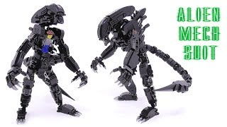 Gambar cover LEGO - Alien Mech Suit - Stop Motion Build