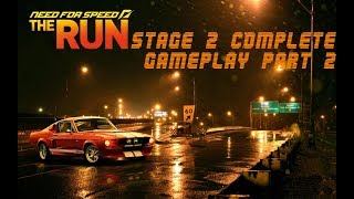 Need For Speed THE RUN GAMEPLAY PART 2 Stage 2 Complete Story Mode