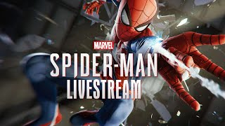 Spiderman PS4 LIVE Stream! Ep. 1