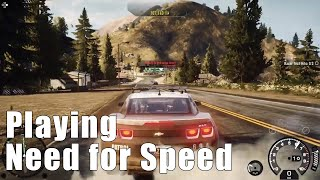 Playing Need for Speed™ Rivals