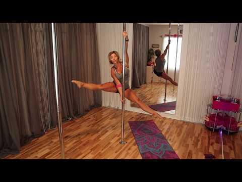 Pole Fitness Tips:  Wavy Leg Technique