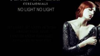 Florence + The Machine - No Light No Light (Lyrics)
