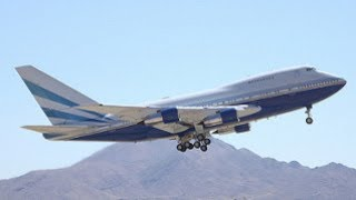 Boeing 747SP Touch & Go and Takeoff