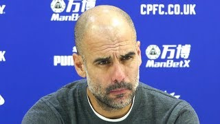 Crystal Palace 1-3 Manchester City - Pep Guardiola Full Post Match Press Conference - Premier League