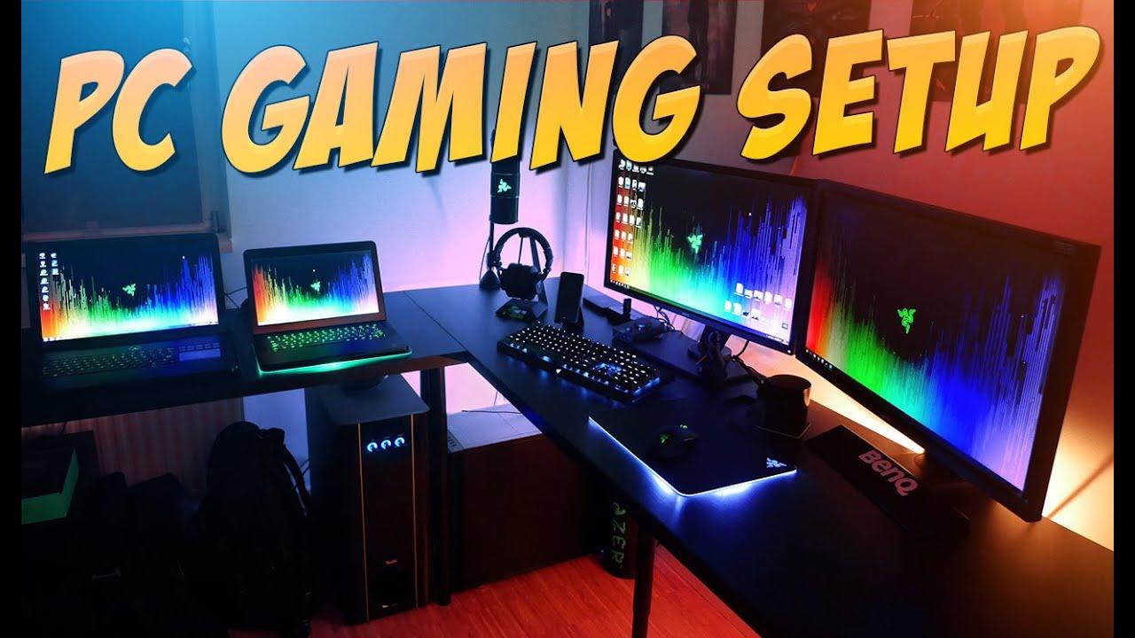 Gaming Setup my 2016 pc gaming setup - youtube