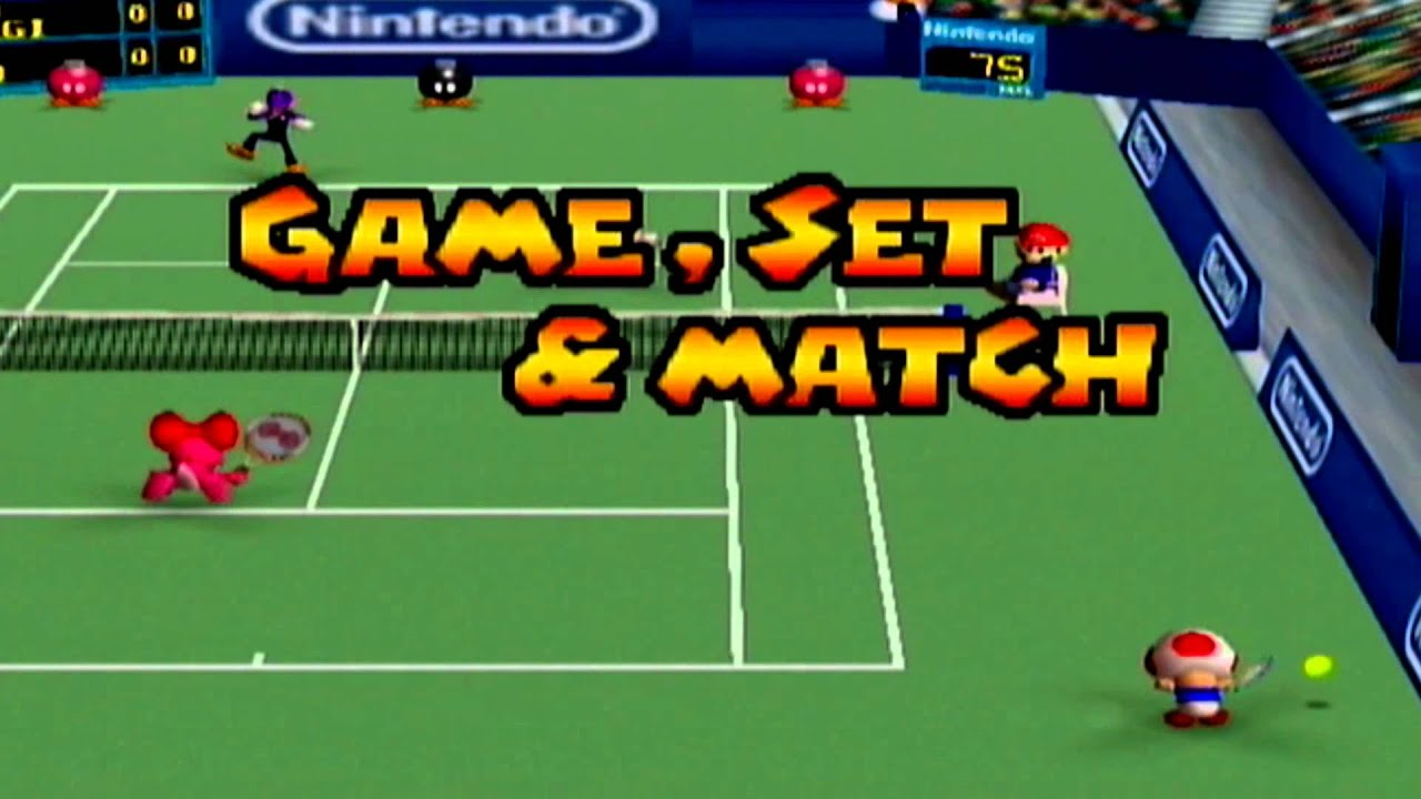 Image result for mario tennis 64