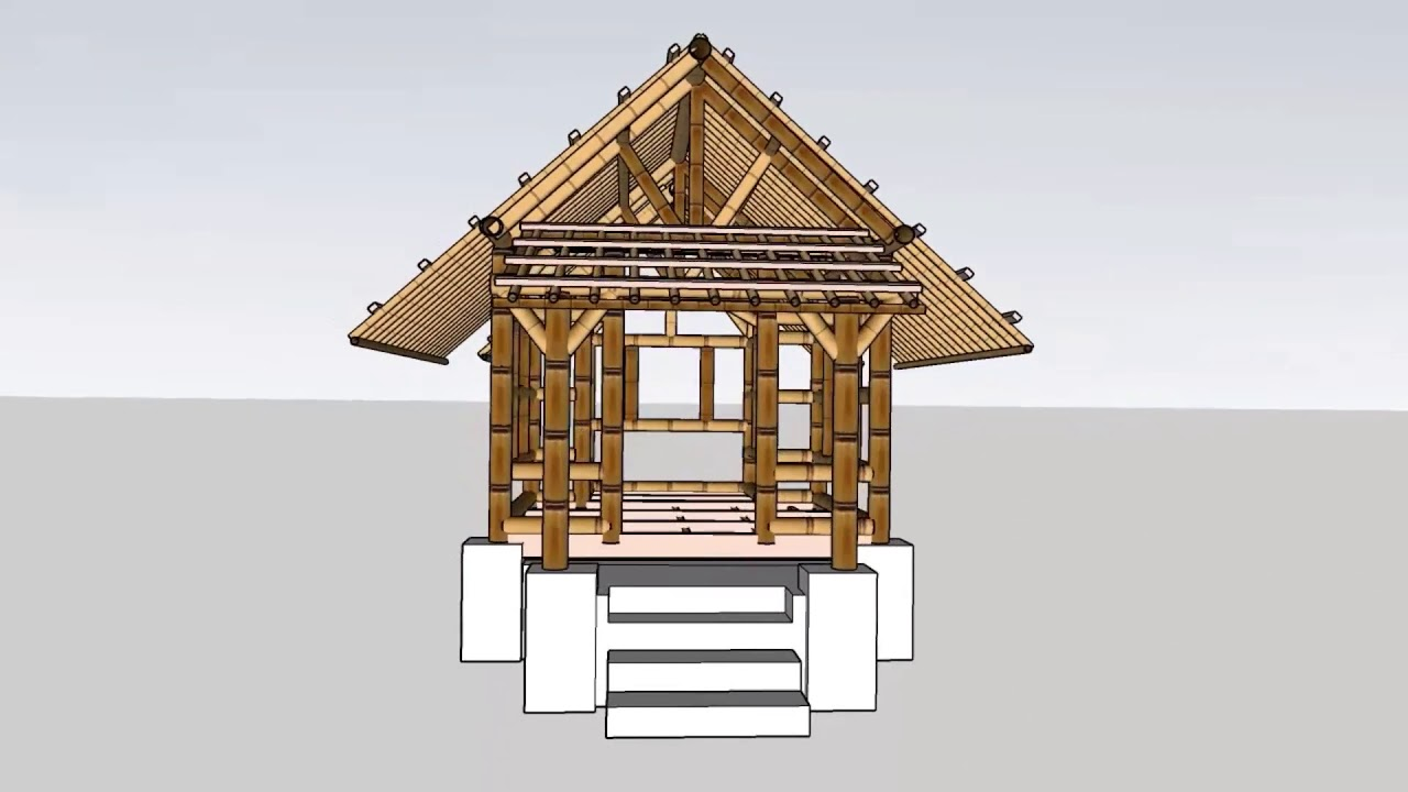COMPARATIVE STUDIES OF TWO BAMBOO BUILDINGS | BCM AAR 1295 ...