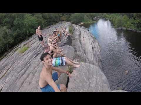 High Falls State Park Alabama Cliff Jumping
