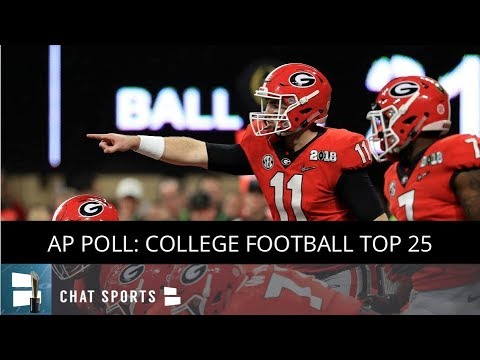 Georgia football moves into top 5 of Coaches and AP Poll for Week 12