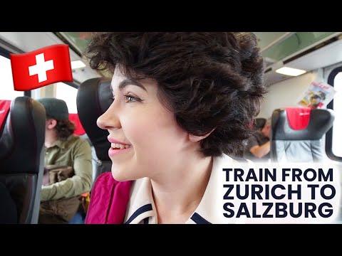 Train Through The Alps | From Switzerland To Austria