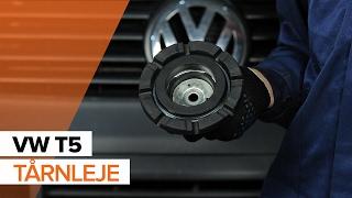 Trin-for-trin VW T5 Van vedligeholdelsesvejledning og reparationsmanualer