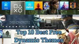 Top 10 Best PS4 FREE Dynamic THEMES You Might Not Know About
